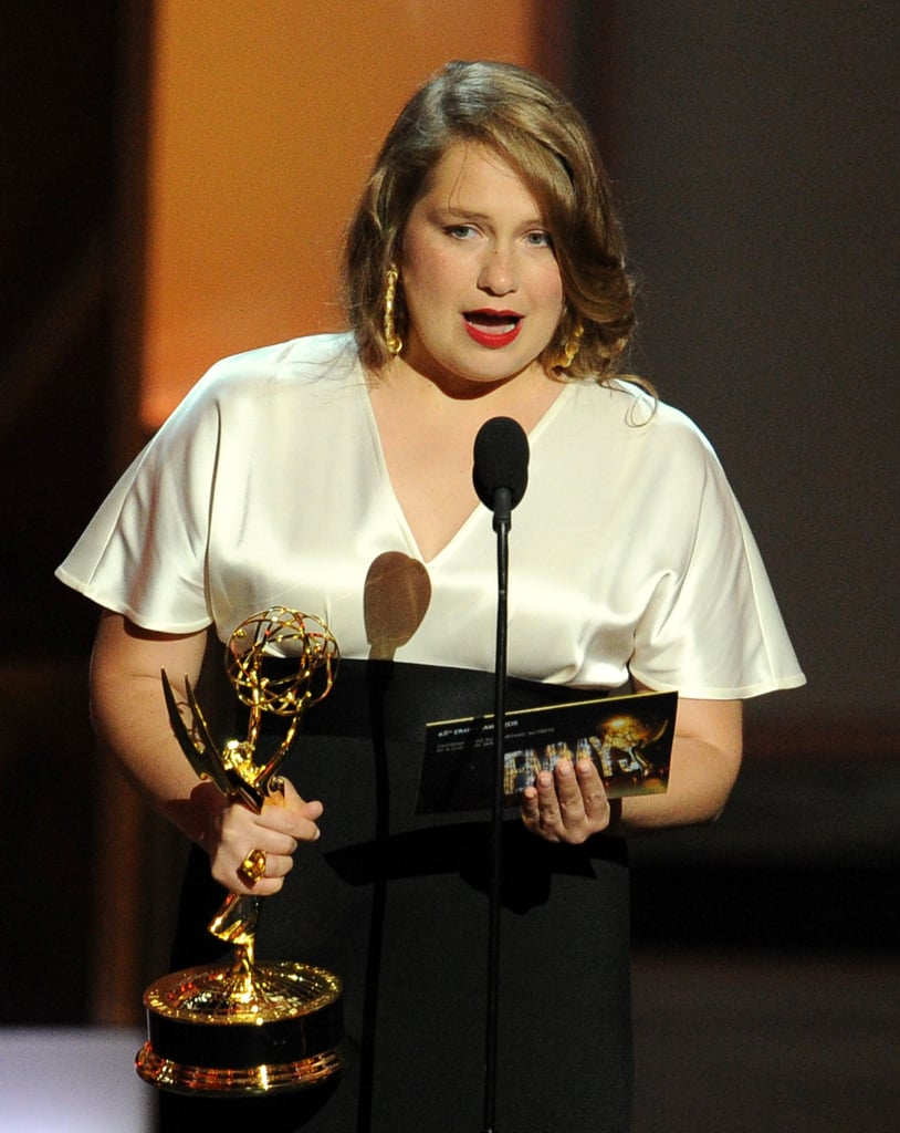 Merritt Wever's Brief Speech