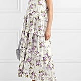 Les Reveries Ruffle-Trimmed Tiered Maxi Dress