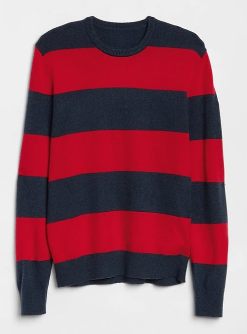 Cozy Rugby Stripe Sweater