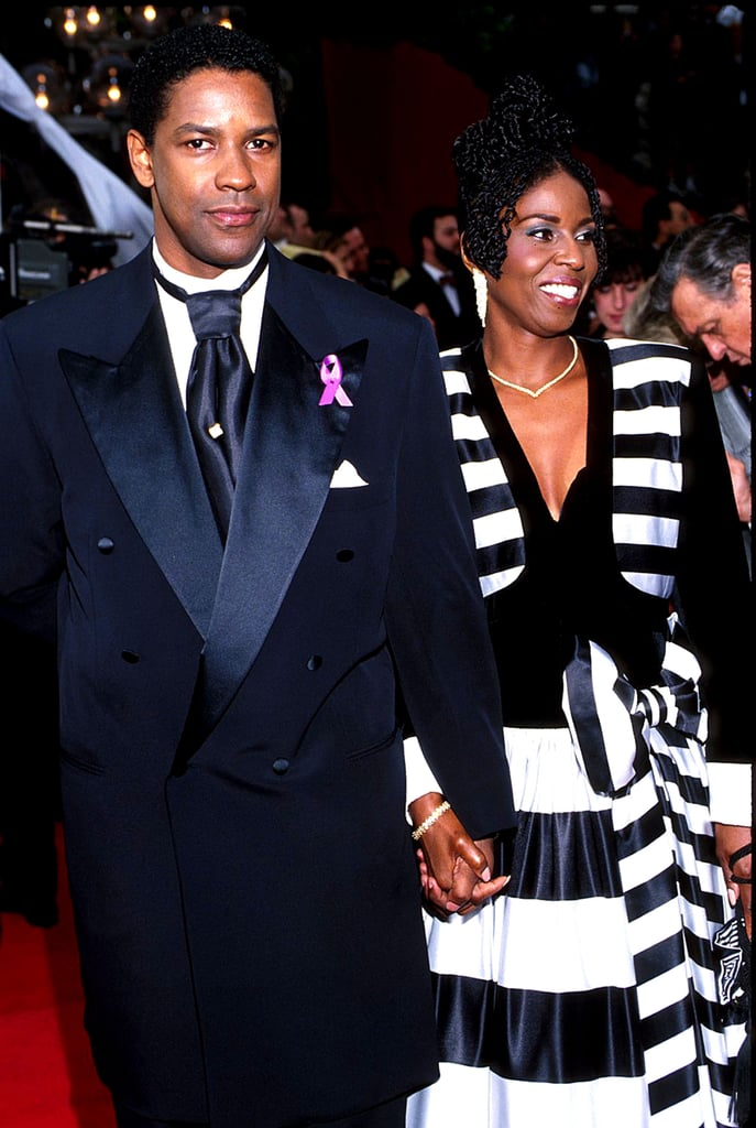 Denzel Washington at the 65th Annual Academy Awards in 1993