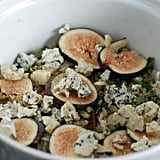 Baked Eggs With Figs, Blue Cheese, and Rosemary