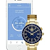 Tory Burch The Collins Hybrid Stainless Steel Bracelet Smart Watch