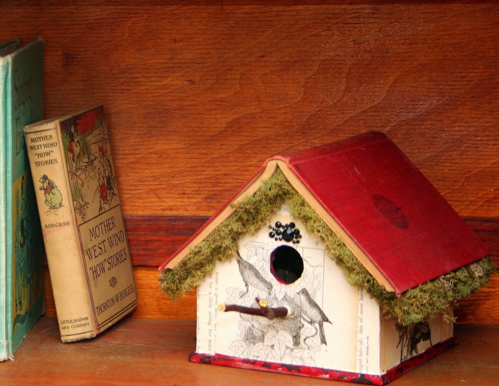 Book Birdhouses