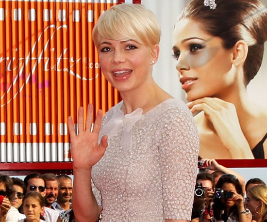 Slide Picture of Michelle Williams at the Venice Film Festival