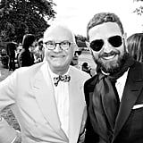 Manolo Blahnik and Stefano Pilati