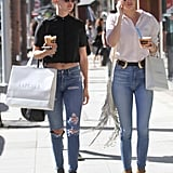 Matching jeans? Yes please.