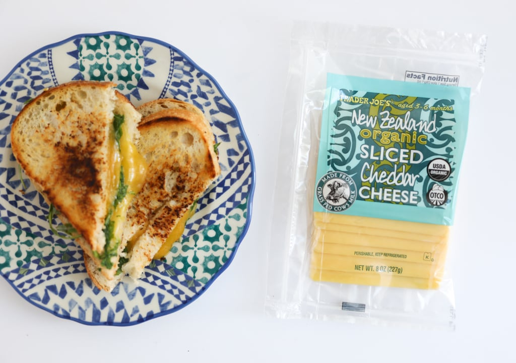 Sliced New Zealand Organic Cheddar ($5)
