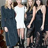 Kendall Hung Out With Gigi Hadid, Karlie Kloss, and Lily Donaldson