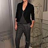 She paired casual-cool separates together at Dior's Fashion Night Out celebration in 2010.