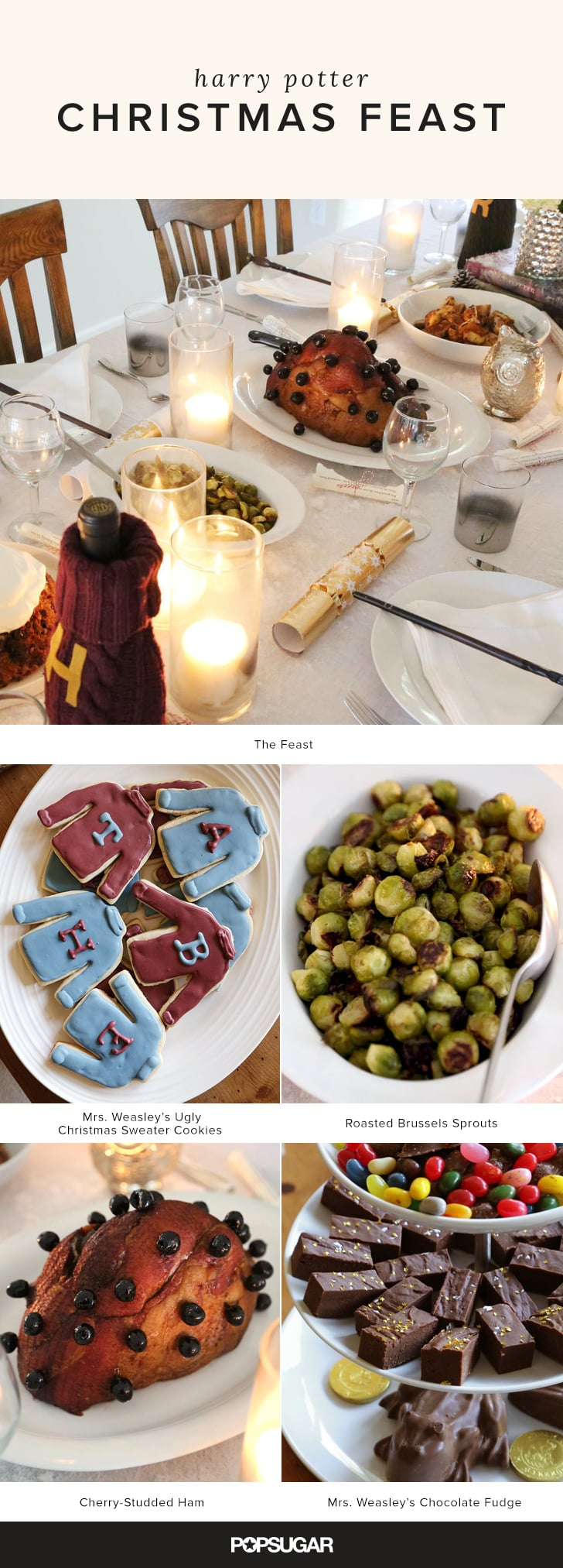 Christmas feast harry potter