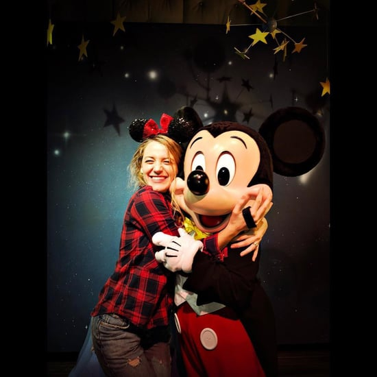 Blake Lively Instagrams at Disneyland March 2018