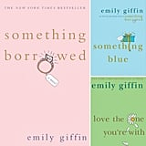 Which Couple From Emily Giffin's Novels Do You Like Best?  From the complicated love triangle in the book-turned-film Something Borrowed to the first-love nostalgia in Love the One You're With, the relationships in Emily Giffin's novels are anything but boring. When we chatted with her last year, Emily ranked her male characters based on who she'd most like to marry. At the top of her list? Conrad, her latest leading man, with Ethan at a close second. For fans who have read all her books, we're curious: do you have a favorite couple?