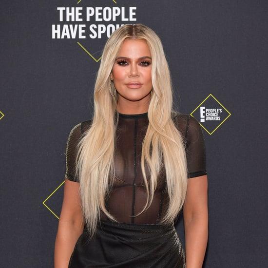 Khloe Kardashian's Holographic Nail Polish