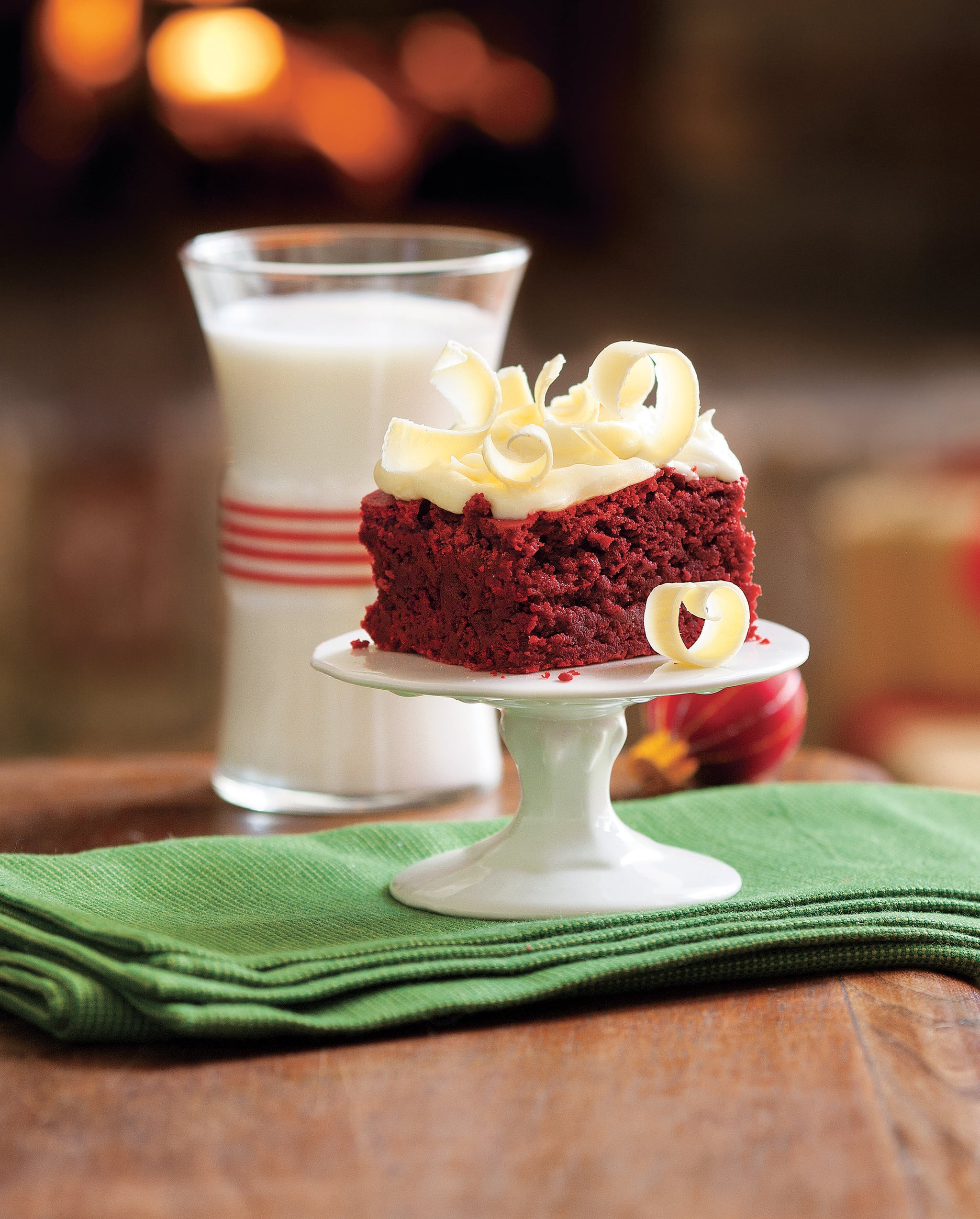 Red Velvet Brownies So Festive That They Need No Decoration