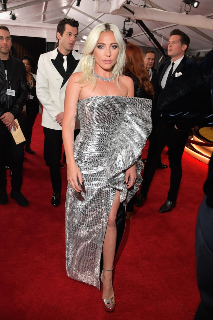 Lady Gaga's Celine Dress at the 2019 Grammys