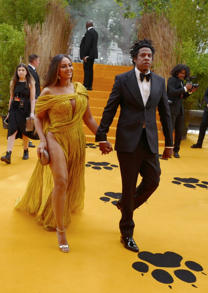 Beyonc 233 And Jay Z At Lion King London Premiere Pictures