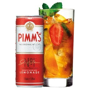 Pimm's No 1 and Lemonade