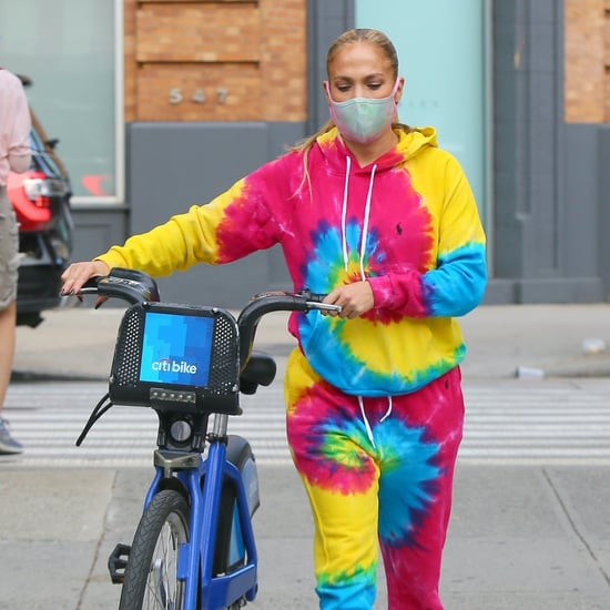 Shop Jennifer Lopez's Polo Ralph Lauren Tie-Dye Sweats