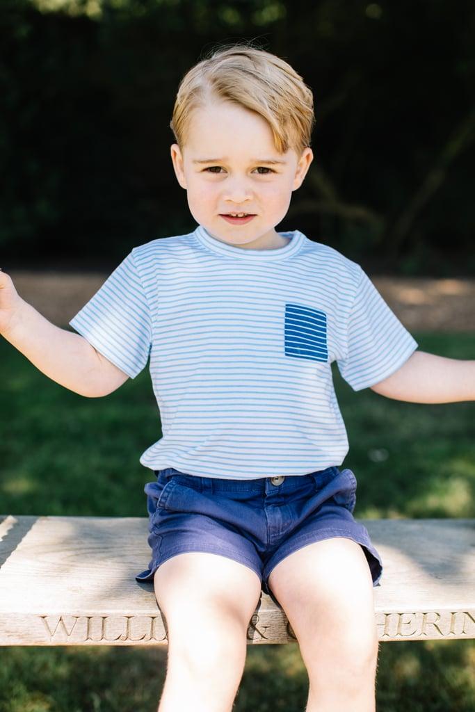 New Photos of Prince George on His Third Birthday