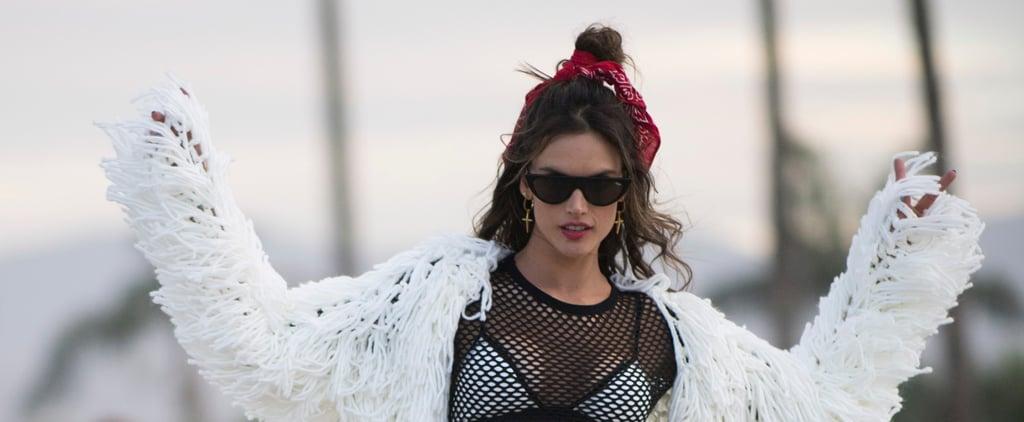 Alessandra Ambrosio Coachella Style 2018