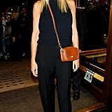 Gwyneth Paltrow attended Fashion's Night Out in London.