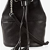 Express Chain Strap Tassel Drawstring Bucket Bag ($40)