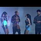 """Diganle (Remix)"" by Leslie Grace feat.Becky G and CNCO"
