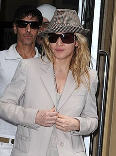 Madonna In France To Visit Injured Stage Workers