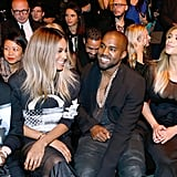 Making their first official appearances together since little North West was born, Kim and Kanye popped up all over the City of Light for Paris Fashion Week. The new parents left little Nori at home, but she still got plenty of goods from Paris Fashion Week. Kim posted pictures of designer gifts for her little one, including dresses and outfits from designer pals like Alexander Wang and Givenchy's Riccardo Tisci.