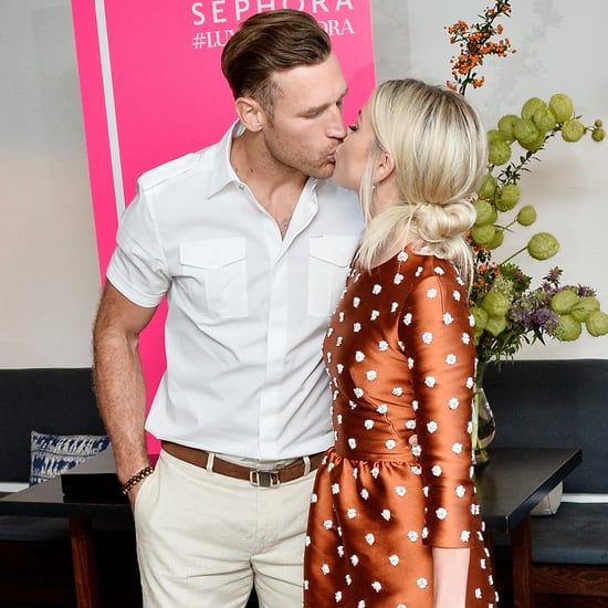 Julianne Hough and Brooks Laich at Harper's BAZAAR Event