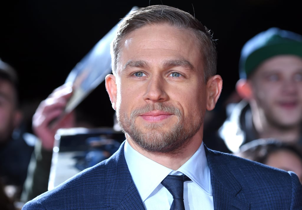 Charlie Hunnam Looks Dapper as Hell While Charming Fans on the Red Carpet