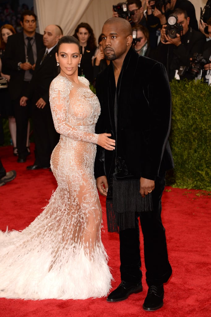 Kim and Kanye attended the Met Gala in May 2015.