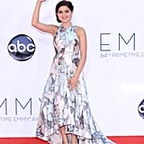 Modern Family's Ariel Winter waved to the cameras.