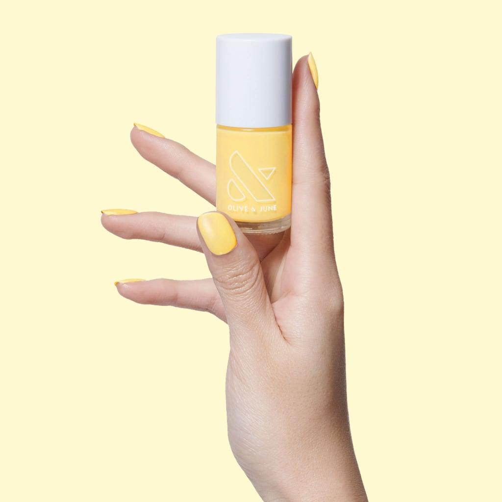 2021 Nail-Polish Colour Trend: Lemon Yellow