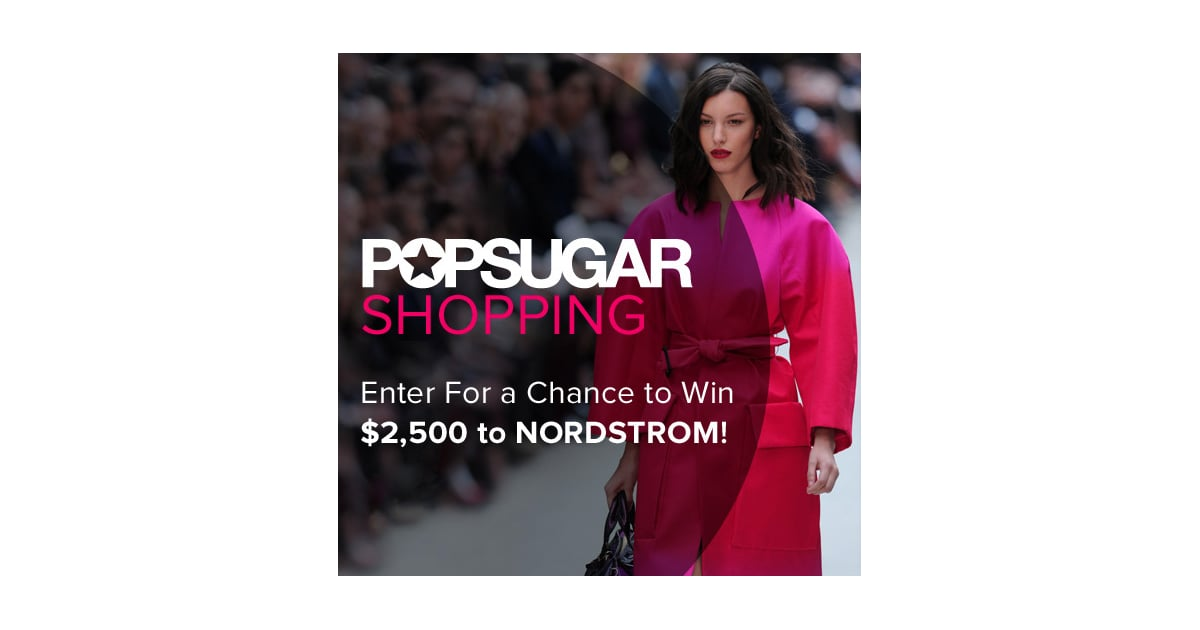 Celebrity shopping sprees sweepstakes
