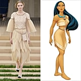 Pocahontas Wearing Chanel Couture