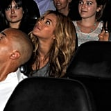 Beyoncé Knowles gazes at her husband.