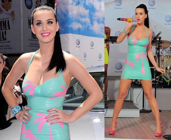 Watch Katy Perry Nude California Gurls Official Video HQ, Pictures of Katy Perry Performing at Volkswagen's Jetta Launch in NYC 2010-06-16 01:30:00