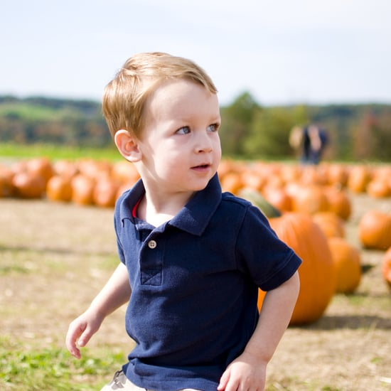 Taking Kids to a Pumpkin Patch