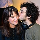 Kristen Wiig and Fabrizio Moretti spent time together at the Lexus Laws of Attraction art exhibit.