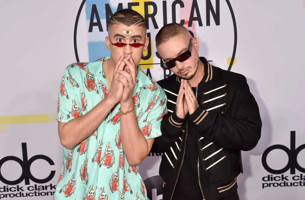 Pictured: Bad Bunny and J Balvin