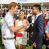 Prince Harry and Dominic Cooper
