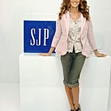 Striking a cute pose for Gap. Adorable.
