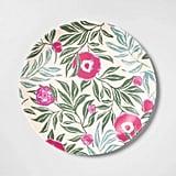 Opalhouse Melamine Floral Dinner Plate
