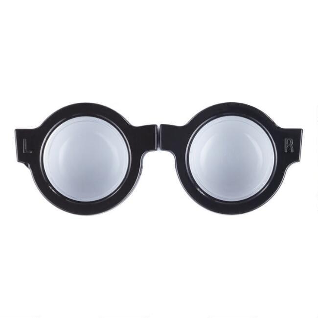 Kikkerland Round Glasses Contact Lens Case