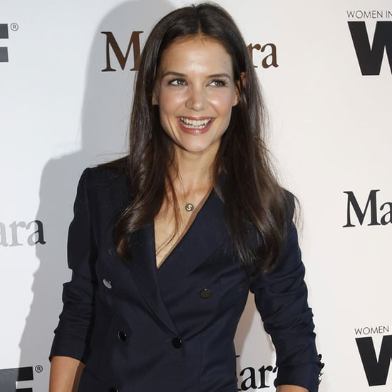 Pictures of Katie Holmes at Vanity Fair MaxMara Dinner
