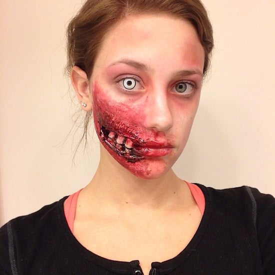 Lili Reinhart Halloween Special Effects Makeup