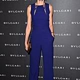 Naomi Watts ruled the red carpet, not in a pretty frock, but a bright-blue-hued one-piece.