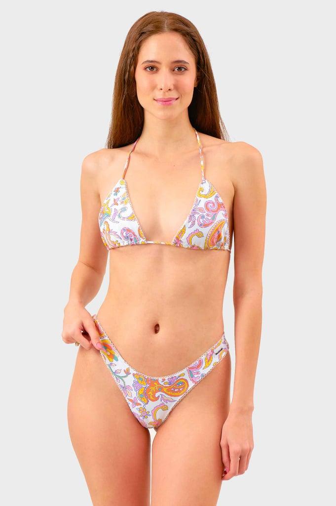 Blackbough Swim Rio Paisleys Martini Bikini Top