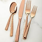 Lucca Rose Golden Flatware 20-Piece Set